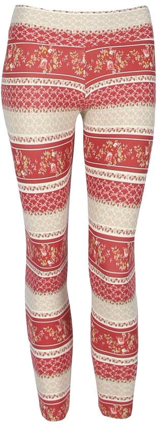 Liquido Legging - Antique Lace Pattern
