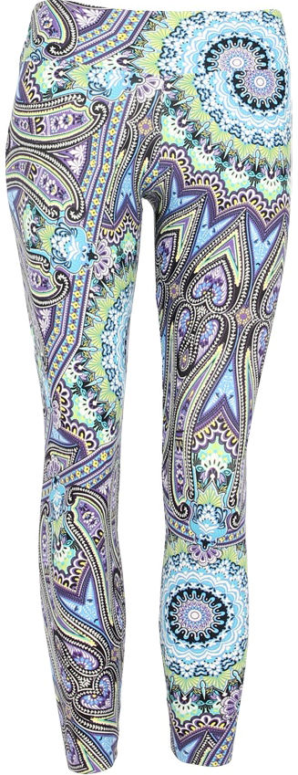 Liquido Legging - Fairytale Ice Pattern
