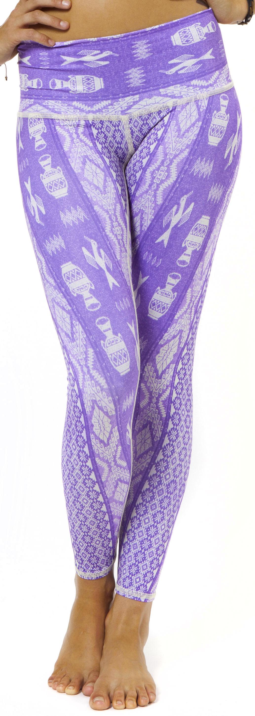 Teeki Diamond Tribe Purple Hot Pant