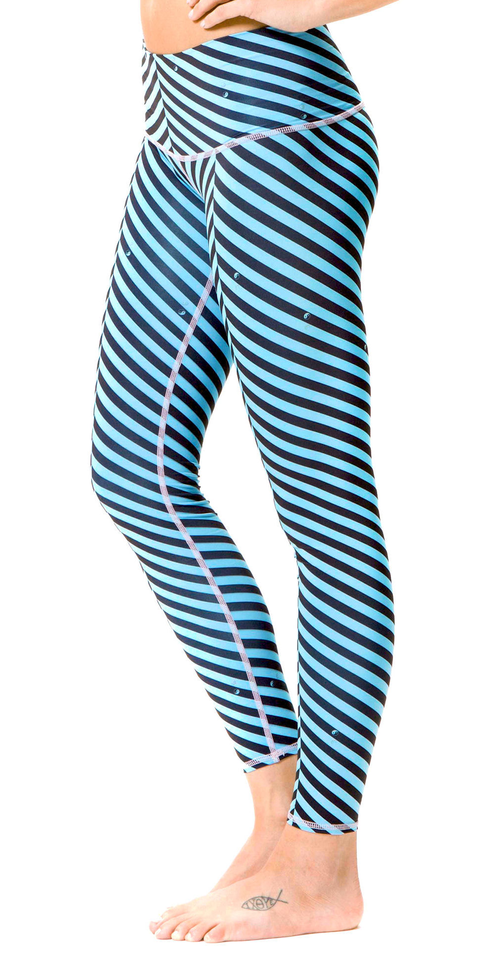Teeki Balanced Traveler Blue Hot Pant